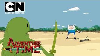 Adventure Time Finn and the Grass Dude Cartoon Network