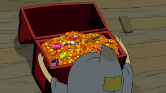 S1e13 penny looking at treasure