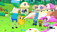 S2e13 mushroom mayor thanking finn and jake