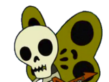 Borboletas Esqueleto