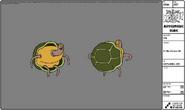 Modelsheet turtleperson4