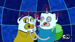 Finn and jake video game hats