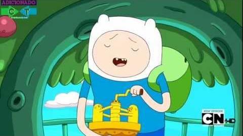 Hora de Aventura - Musica do Finn Episodio Jake vs Me-mow