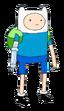 Finn com braço biônico