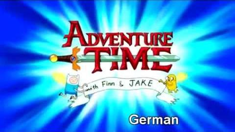 Multilenguaje Adventure Time Intro