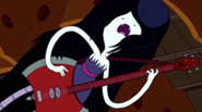 Marceline Playing Bass