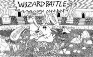 Batalha dos Magos arte Promocional