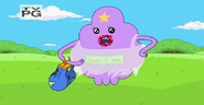 S4 E12 LSP dressed up