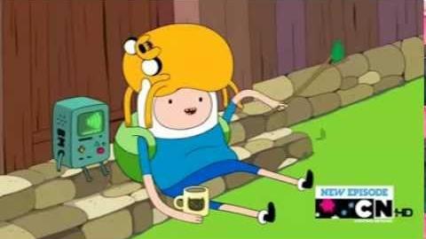 Música Finn e Jake (O monstro)