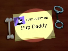 Pup Daddy Title Card