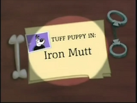 Iron Mutt Title Card