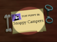 Snappy Campers Title Card