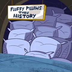 Fluffy Pillows Thru History.