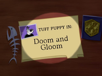 Doom and Gloom Title Card