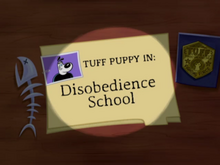 Disobedience School Title Card