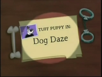 Dog Daze Title Card