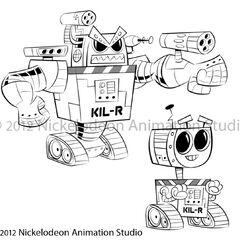 Concept art of KIL-R.