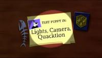 Lights Camera Quacktion Title Card