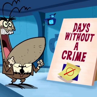 Days without a crime.