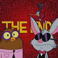 Owl, Zippy, and Bat.