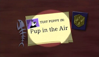 Pup in the Air (Title Card)