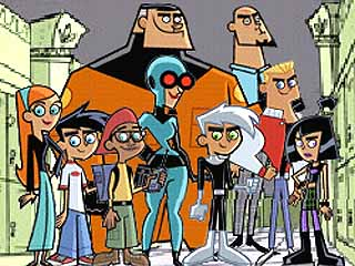 Danny phantom team-1-