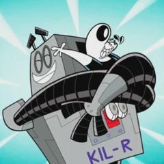 KIL-R hugging Dudley.