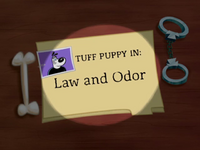 Law and Odor Title Card