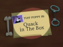 Quack in the Box Title Card