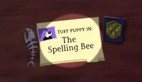 The Spelling Bee (Title Card)