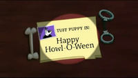 Howl-O-Ween Title Card