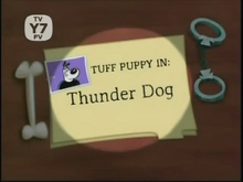 Thunder Dog Title Card