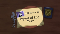 Agent of the Year Title Card