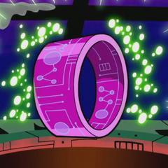 The Toilet laser bracelet.