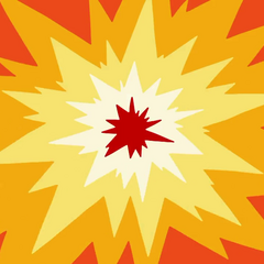 Explosion transition.