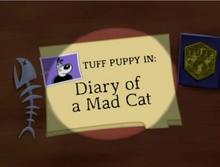 Diary of a Mad Cat Title card