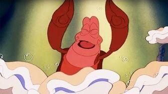 The Little Mermaid Under the Sea Lyric Video Disney Sing Along