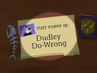 Dudley Do-Wrong Title Card