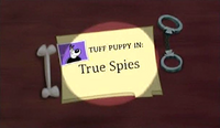 True Spies (Title Card)
