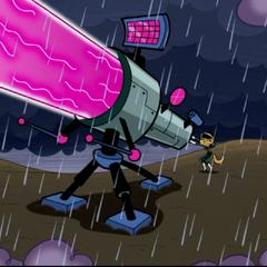...against laser cannon.