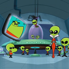 T.U.F.F. HQ disguised as Area 51.