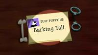 Barking Tall (Title Card)