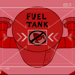 Target: Fuel Tank.