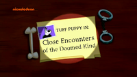 Close Encounters of the Doomed Kind (Title Card)