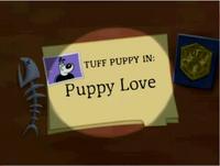 Puppy Love Title Card