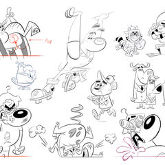 Sketches of Dudley.