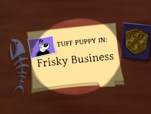 Frisky Business Title Card