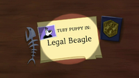 Legal Beagle (Title Card)