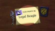Legal Beagle (Title Card)