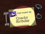 Quacky Birthday